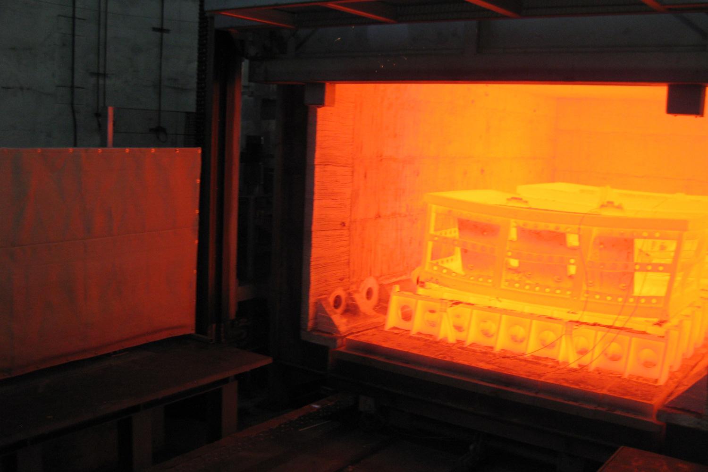 Böhler Schmiedetechnik Wärmebehandlungsanlage 1150 Grad - Österreich