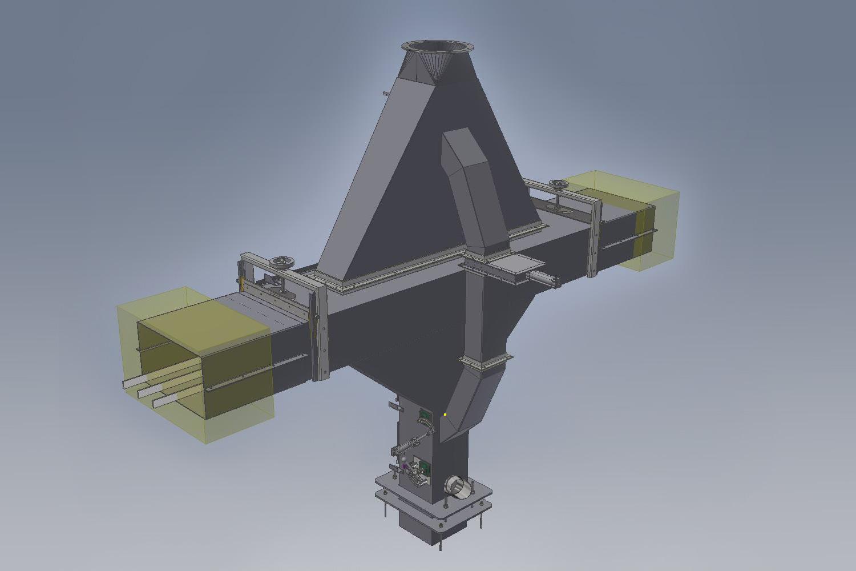 Konstruktionen in 3D Intensivtrockner