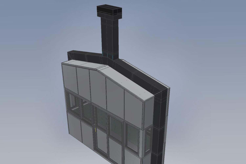 Konstruktionen in 3D Maut