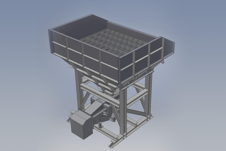 Konstruktionen in 3D Viborinne