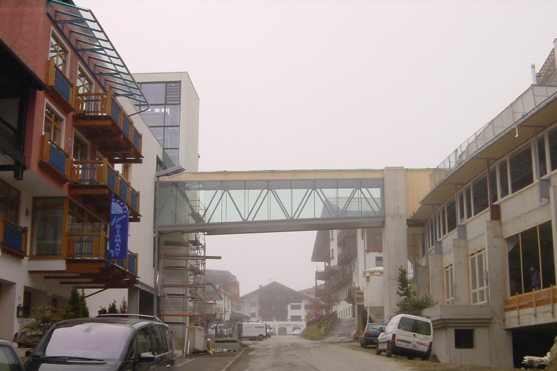 Obergurgel Fußgängerbrücke - Österreich