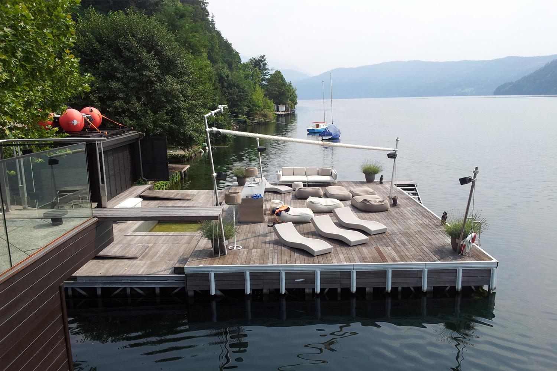 Privathaus Schwimminsel - Österreich