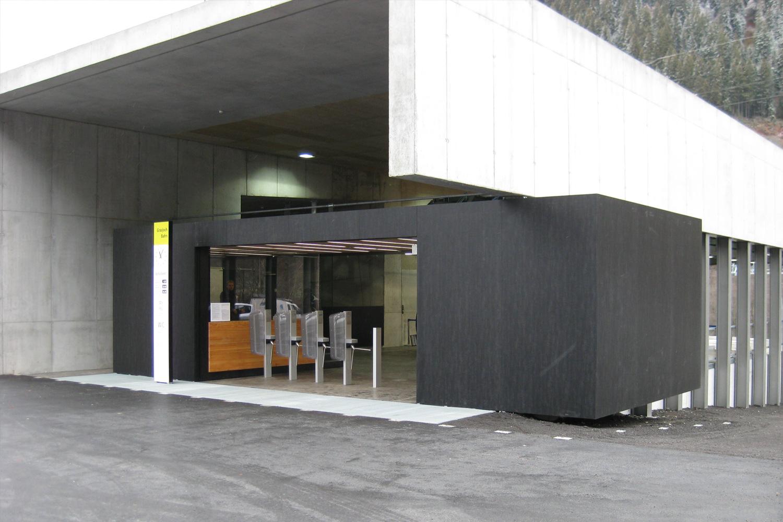 Silvretta Nova Bergbahnen Stationen - Österreich